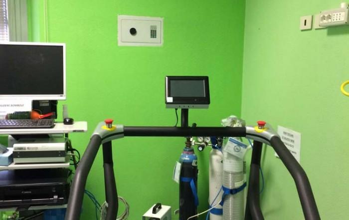 monitor per tapis roulants clinica de marchi